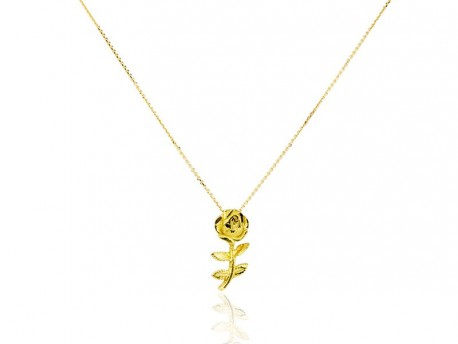 Yellow rose gold pendant lidajoies barcelona new rose pendant mozeypictures Image collections