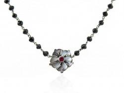 necklace flors